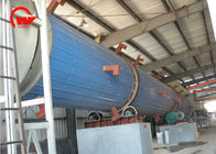 Carbon Steel Steam Tube Dryer , Spent Grain Rotary Industrial Drum Dryer