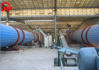 Cooler Rotary Drum Dryer Machine , 50 - 1000m2 Industrial Rotary Dryer