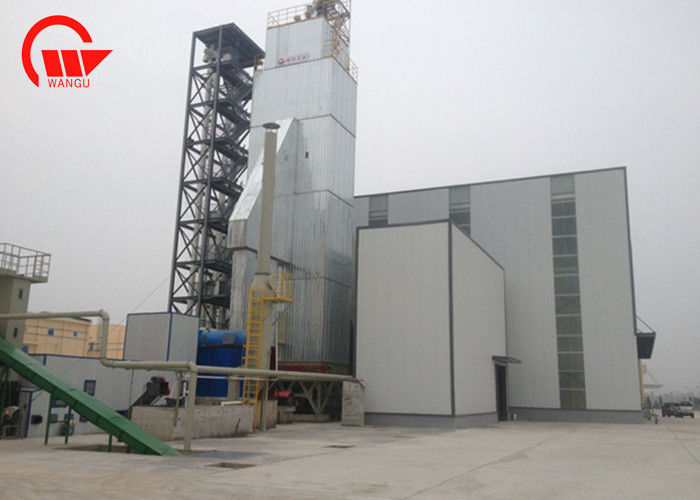 Hot Clean Air Mixed Flow 700T/D Paddy Dryer Machine
