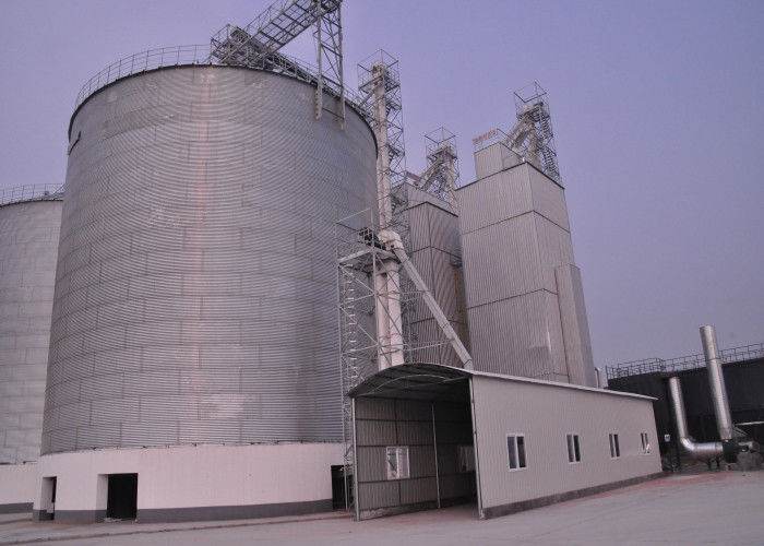 Stable Performance Batch Grain Dryer , Easy To Operate Wheat Dryer Machine,500T/D maize dryer