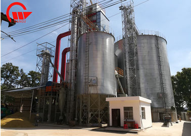 China Inducing Type Continuous Dryer Machine , Corn / Maize Mechanical Grain Dryer factory