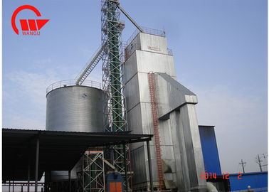 China Clean Hot Blast Paddy Dryer Plant , Easy Operate Fan Dryer For Rice Mill factory