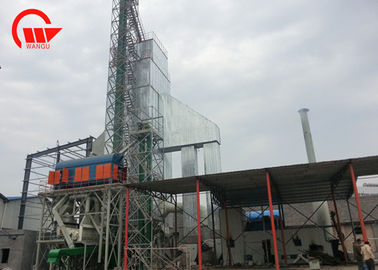 600 Tons Rice Dryer Machine , Double Centrifugal Paddy Drying System Fuel Saving