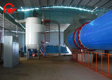 China 9.7 * 1.7 * 2.7m Wood Chip Dryer , Rotary Vacuum Dryer 12 Months Warranty factory