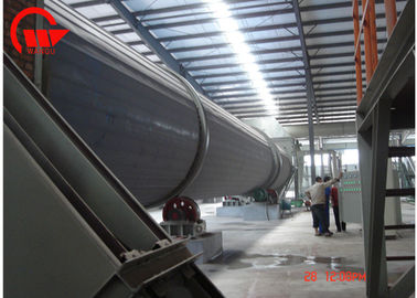 China Industrial Single Sand Rotary Tube Bundle Dryer ISO Certificated 12 Months Warranty factory