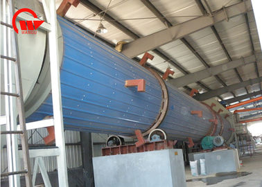 China Carbon Steel Steam Tube Dryer , Spent Grain Rotary Industrial Drum Dryer factory