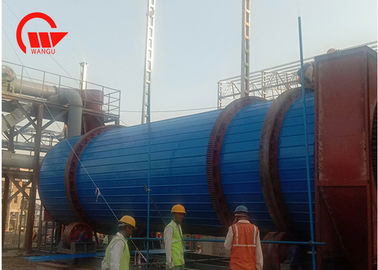 China Compact Vacuum Drum Dryer , Transmission Inorganic Minerals Industrial Rotary Dryer factory