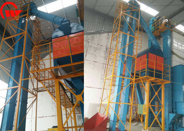 Vertical Cereal Grain Bucket Elevator , Bucket Conveyor System For Rice Mill