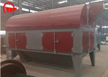Rotary Wheat Cleaning Machine , Paddy Separator Sieve Portable Grain Cleaner