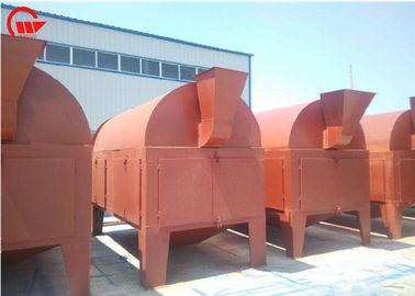 Multifunctional Screen Rotary Grain Cleaner Soybean / Castor / Flax Seed Pre Cleaner Machine