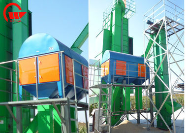 Seeds Rotary Grain Cleaner Machine For Raw Wheat Pre Cleaning 1.1 - 4kw Engine Power