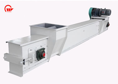 Enclosed Scraper Chain Conveyor System For Grain Stainless Steel Material