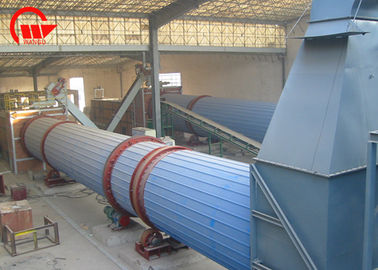 Energy Saving Compact Rotary Dryer Industrial Drying Equipment ISO Certification